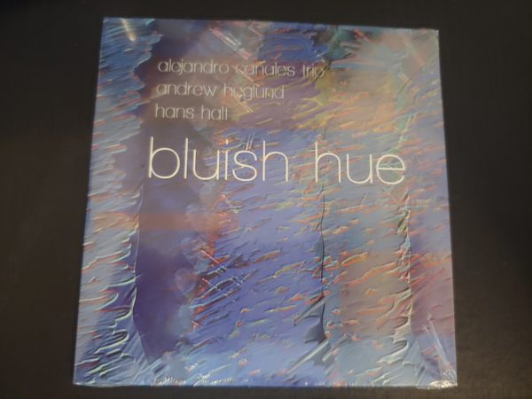 Bluish Hue physical album by Alex Canales Trio